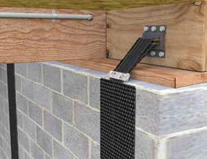 Wall Reinforcing Systems With Carbonarmor Foundation
